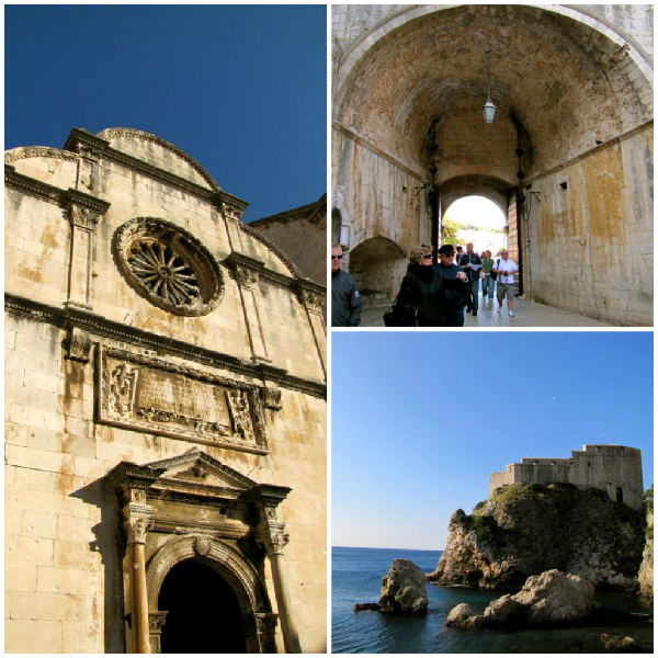 Dubrovnik Old Town Entrance