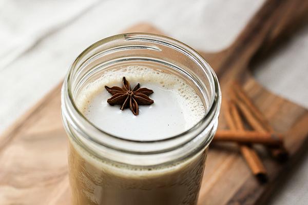 Home-brewed Chai Tea Latte