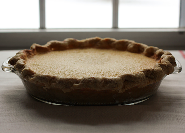 Maple Custard Pie by The Little Red Button